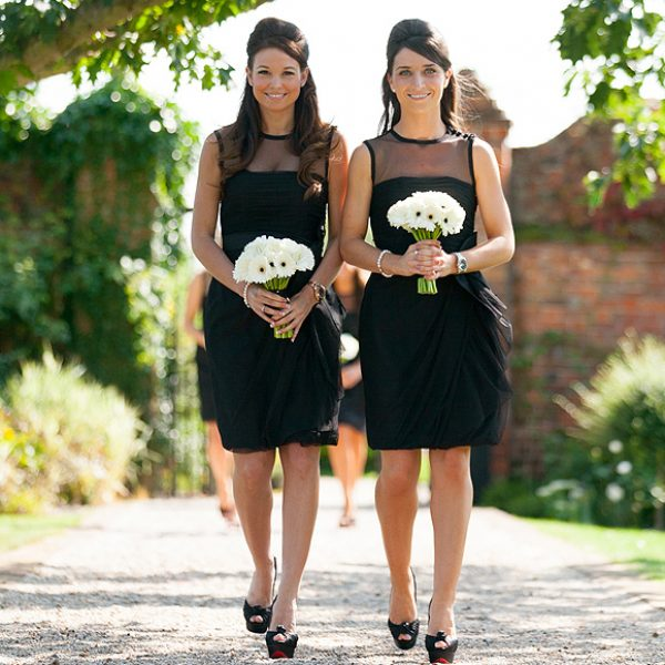 Black bridesmaids dress ideas