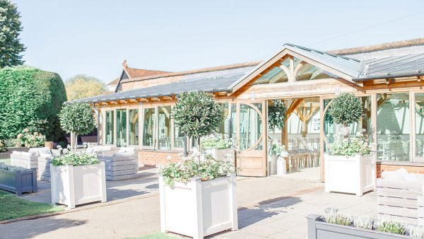 The Orangery provides a romantic setting for your wedding ceremony with its neutral décor
