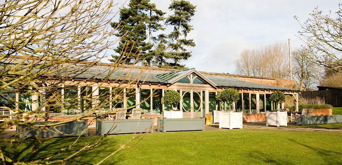 Gaynes Park's Orangery in the winter sun – wedding venues in Essex