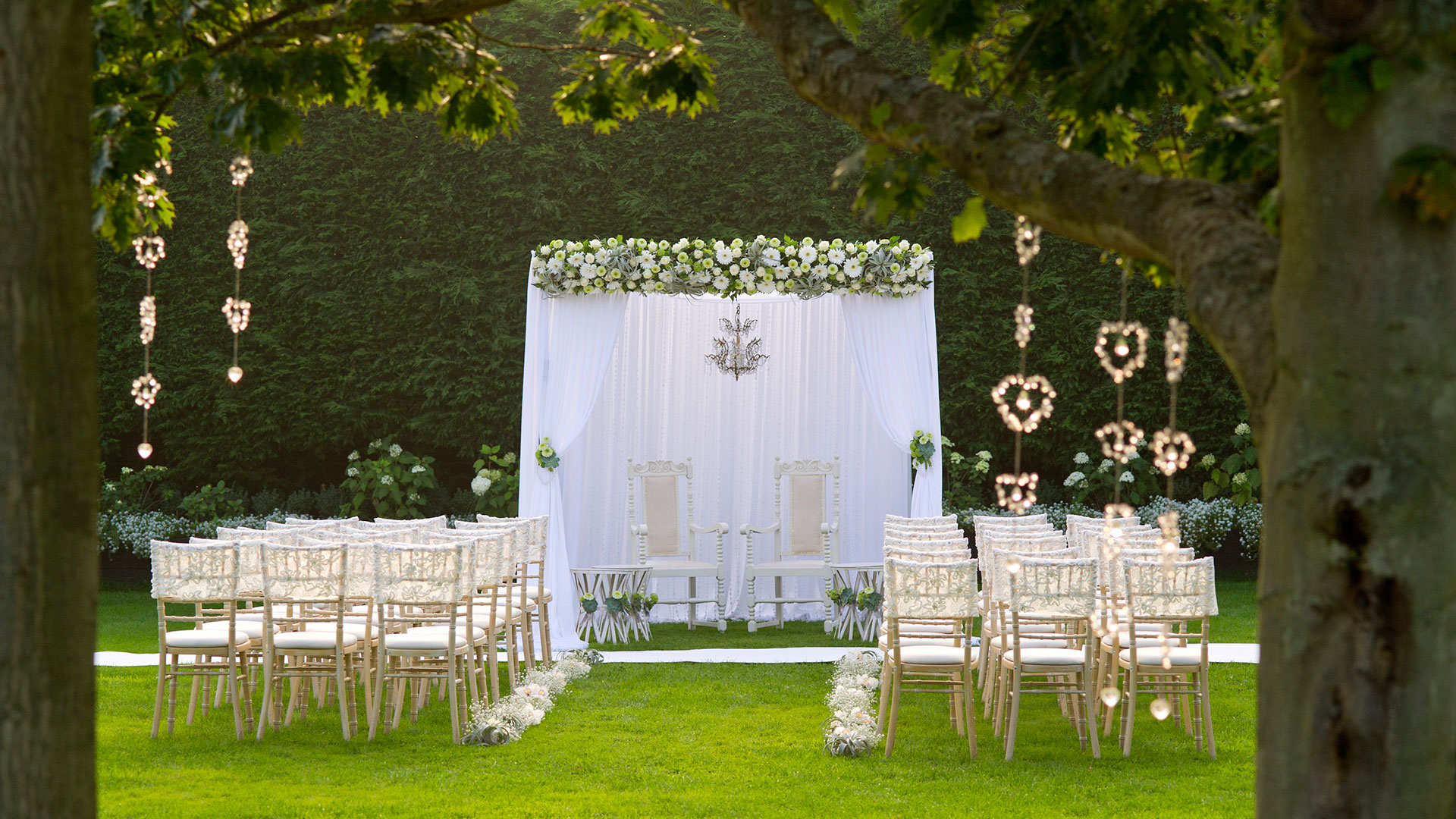 Celebrate your blessing in the beautiful Walled Garden ideal for your outdoor wedding