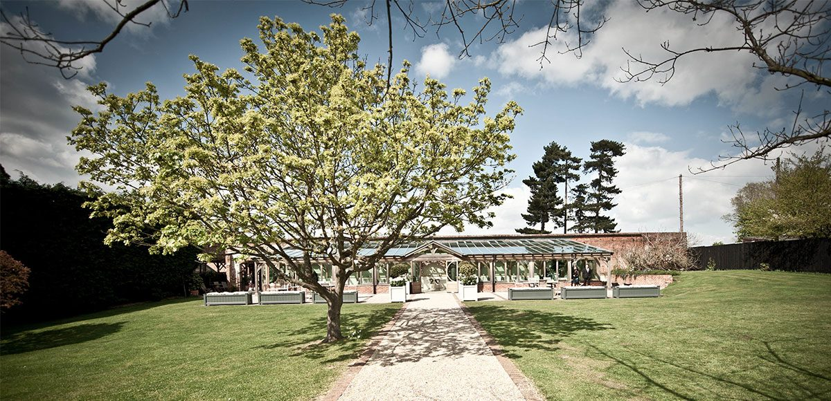 Gaynes Park's Orangery and gardens during the Spring – wedding venues in Essex