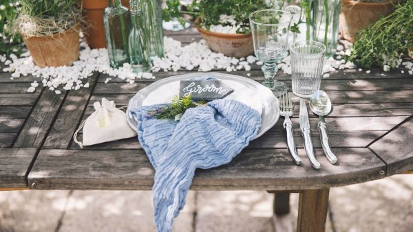 Outdoor weddings are available at this unique barn wedding venue in the countryside - rustic wedding ideas