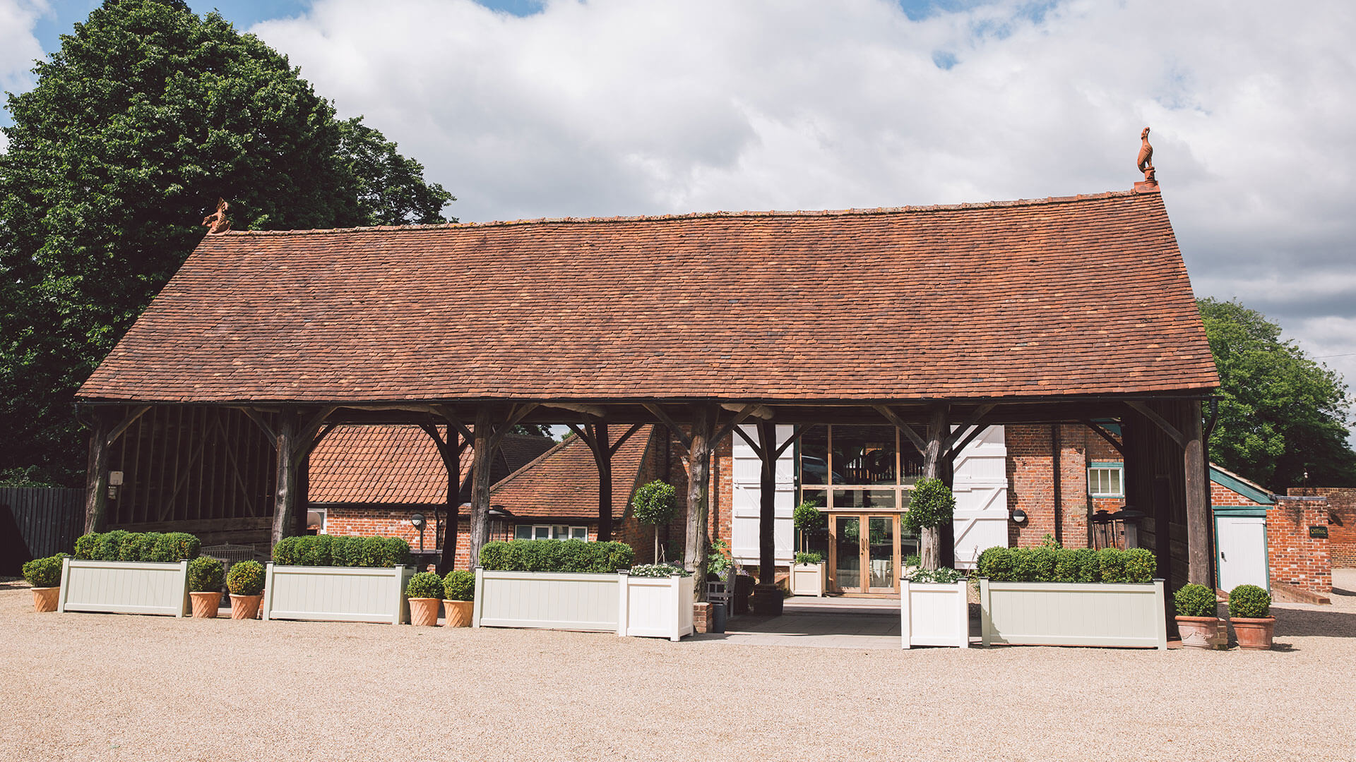 Gather barn outside wedding venue gaynes park anesta broad photography save the gather barn is the perfect summer wedding venue with its open air feel solutioingenieria Gallery