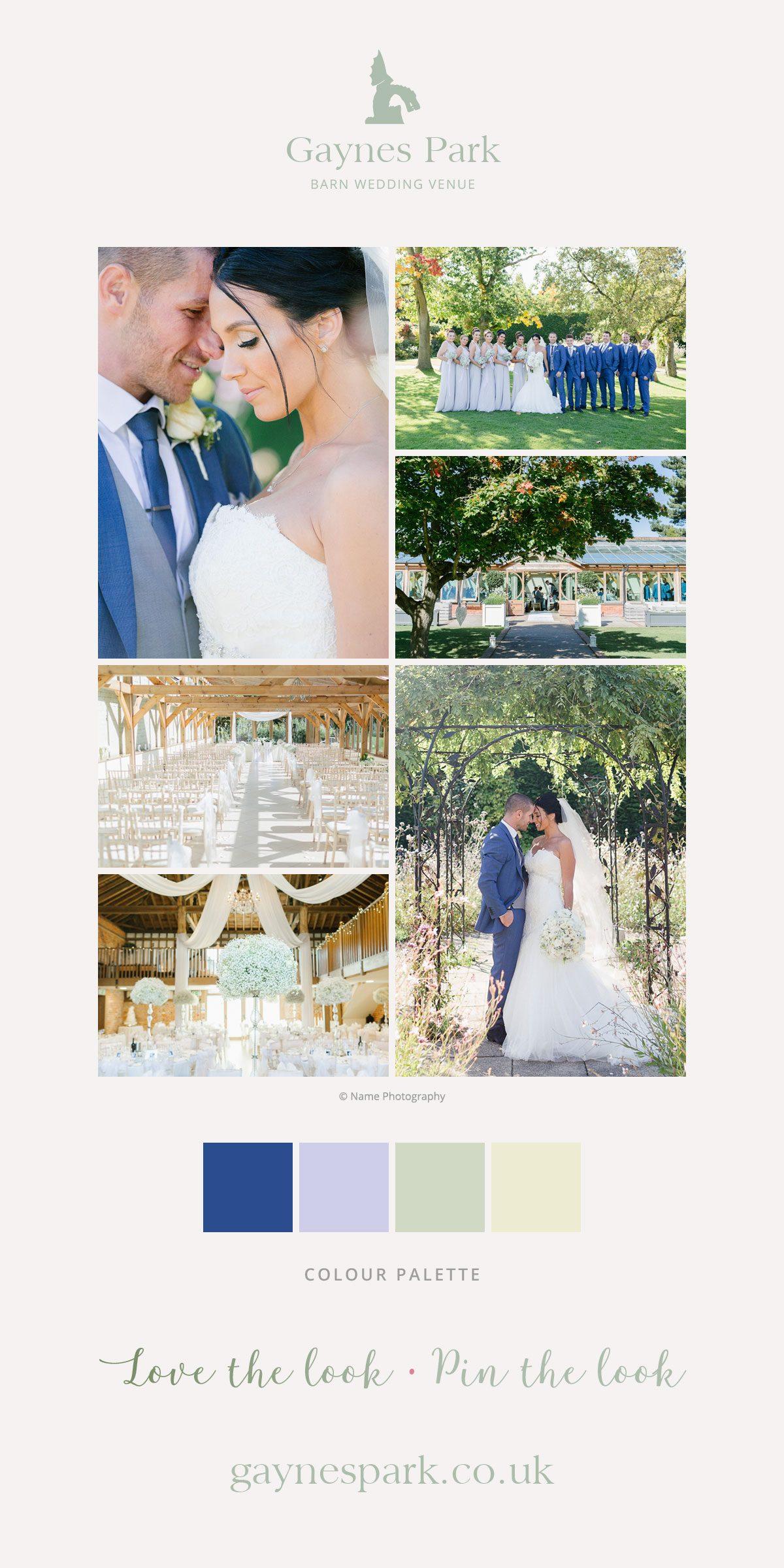 Danielle and Charley's real life wedding at Gaynes Park