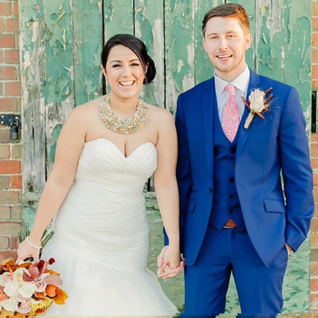 Claire and Steve had a rustic autumnal wedding at Gaynes Park in Essex