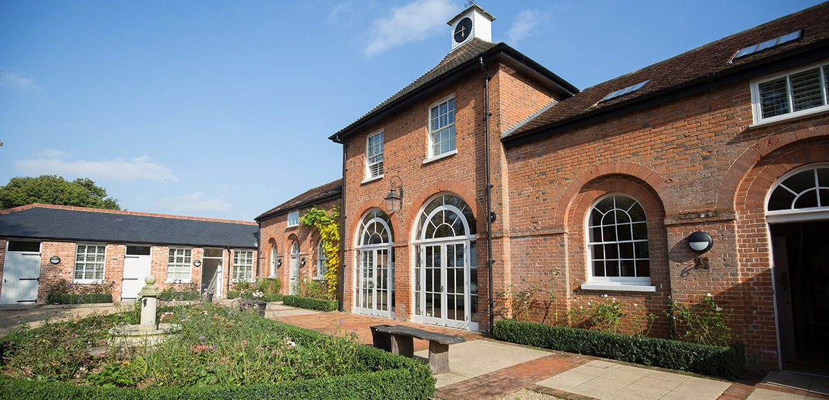 The Coach House at Gaynes Park provides stunning contemporary guest accommodation