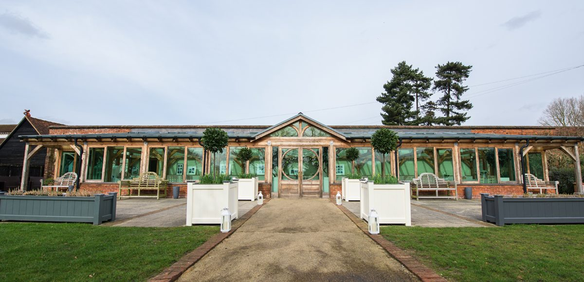 The Orangery is perfect for a wedding ceremony at Gaynes Park in Essex