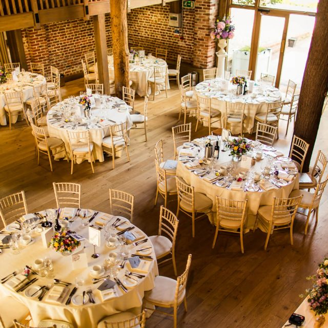 The Mill Barn at Gaynes Park in Essex